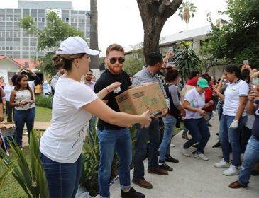Альварес допоміг жертвам землетрусу в Мексиці
