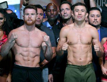 Головкін – Альварес: Боксери пройшли процедуру зважування