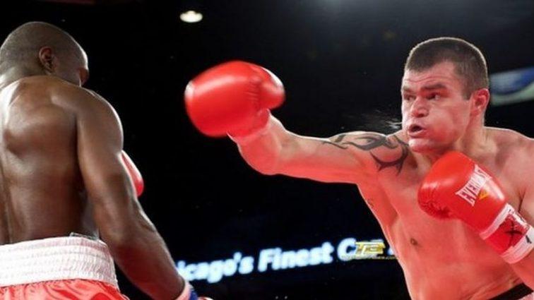 Скандал який розгорнувся на тлі поєдику Українського боксера