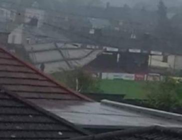 Через негоду стадіон футбольного клубу залишився без даху