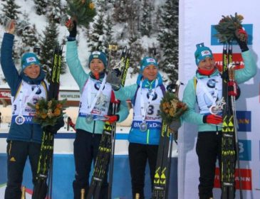 Три спортсменки представлять Україну в першому мас-старті біатлонного сезону