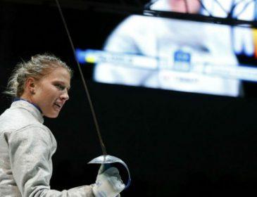 Тернополянка Олена Кривицька зайняла 6 місце у всесвітньому турнірі з фехтування на шпагах