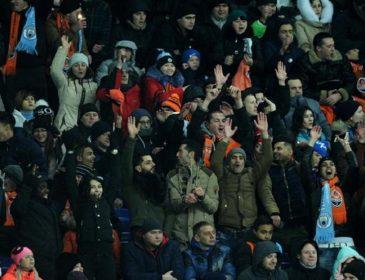Фанати Манчестер Сіті підтримали героїв АТО у матчі з Шахтарем