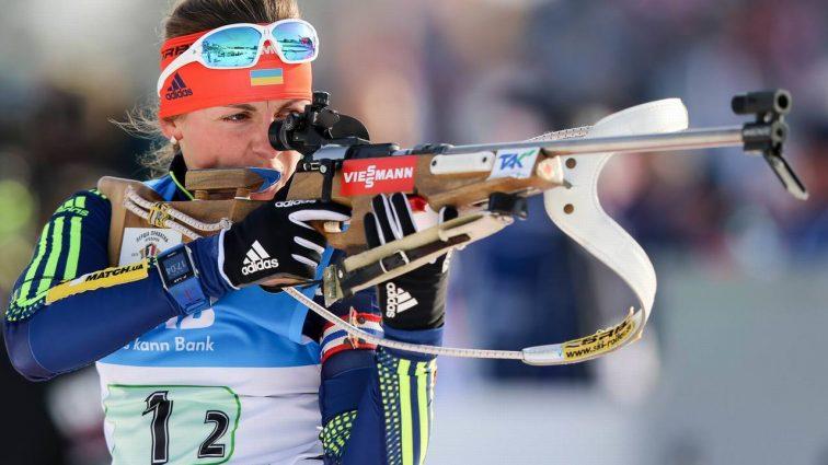 Українська біатлоністка стала чемпіонкою Європи у спринтерській гонці