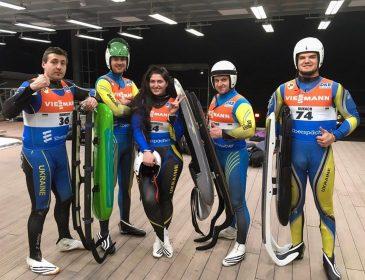 П'ятеро саночників представлять Україну на Олімпіаді-2018
