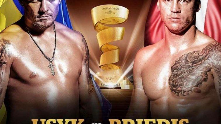 Усик переважив Брієдіса напередодні півфіналу Всесвітньої боксерської серії