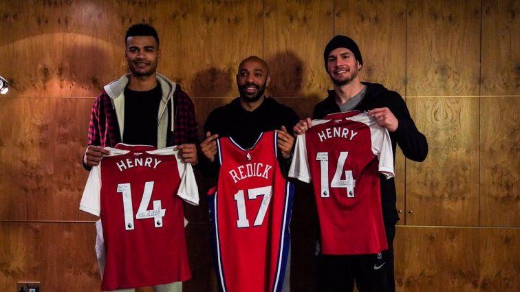 Зірки футболу відвідали матч НБА у Лондоні
