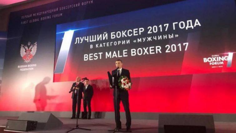 Український боксер визнаний найкращим в світі