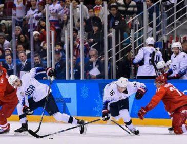 Американські та російські хокеїсти влаштували заміс на льоду