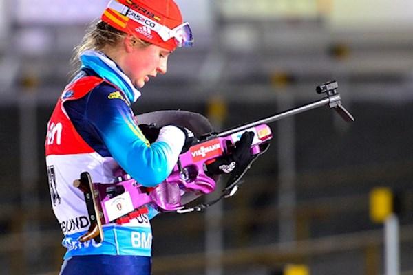 Українська біатлоністка виборола срібло на змаганнях у Росії