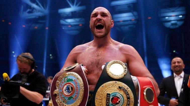 Ф'юрі оголосив дату повернення в бокс