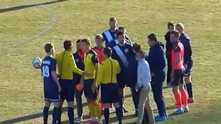 """Напад на суперника та погрози розправою: в українському футболі влаштували """"бандитські"""" розбірки"""