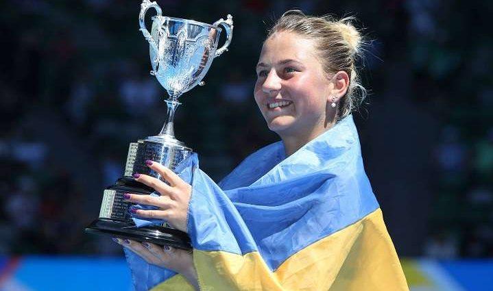 Українська тенісистка Марта Костюк стане першою ракеткою світу серед юніорів