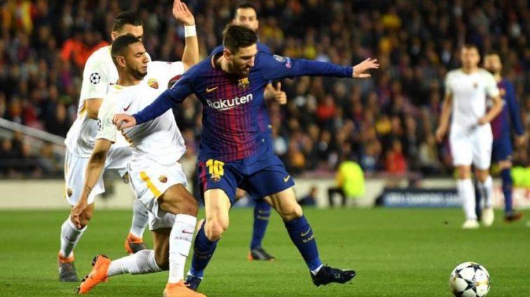 "Рома забила три голи на ""Камп Ноу"", але Барселона майже в півфіналі ЛЧ"
