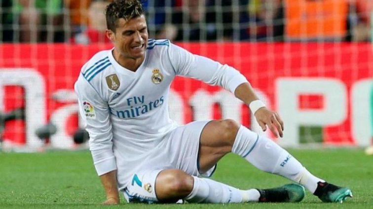 Чи поїде до Києва: Роналду травмувався у матчі з Барселоною