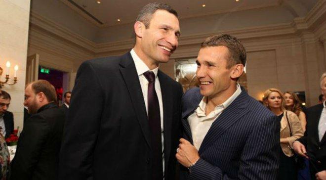 Як Шевченко та Кличко разом грали в гольф