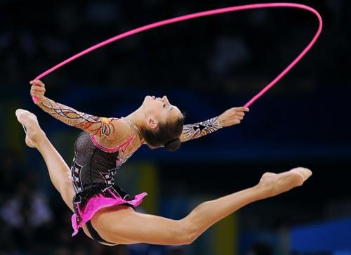 Українська спортсменка здобула п'ять медалей на XVII Всесвітній гімназіаді з художньої гімнастики