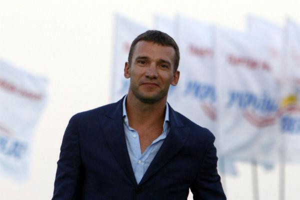 Андрій Шевченко зіграє в прощальному матчі Андреа Пірло