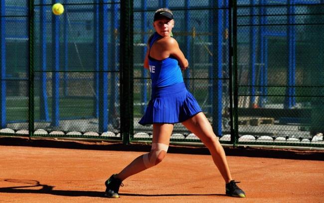 Українська 15-річна тенісистка бориться за місце в фіналі турніру ITF