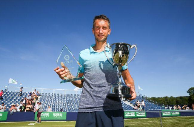 Український тенісист обіграв німця і пообіцяв побити рекорд