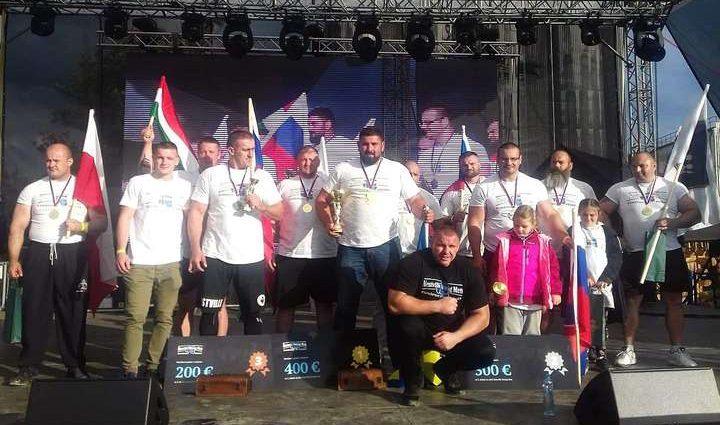 Український стронгмен виявився найсильнішим на змаганнях в Словенії