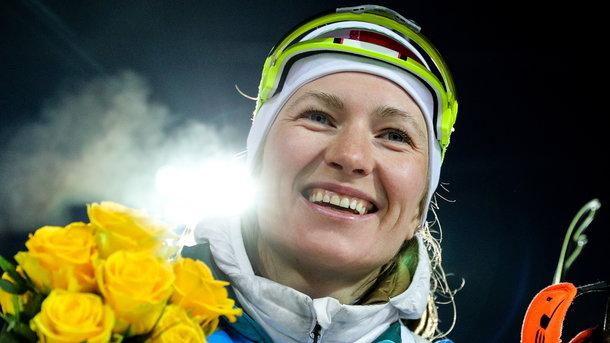 Стало відомо, чому пішла зі спорту відома біатлоністка Домрачева