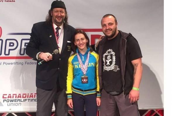 На чемпіонаті світу з класичного пауерліфтингу хмельничанка посіла 1 місце