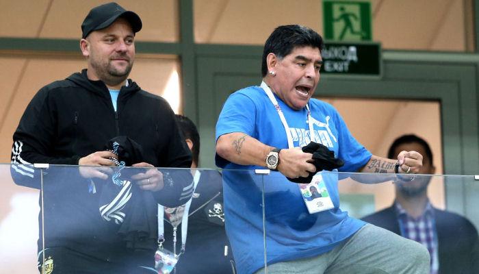 Дієго Марадона кинув виклик гравцям збірної Аргентини