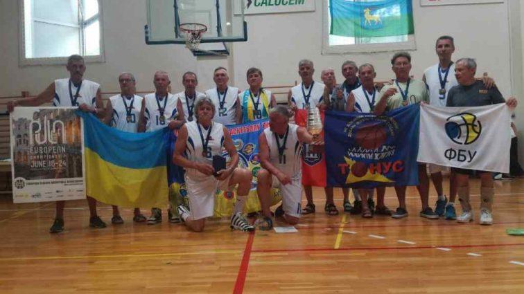 Українські ветерани на ЧЄ з баскетболу виборюють призові місця