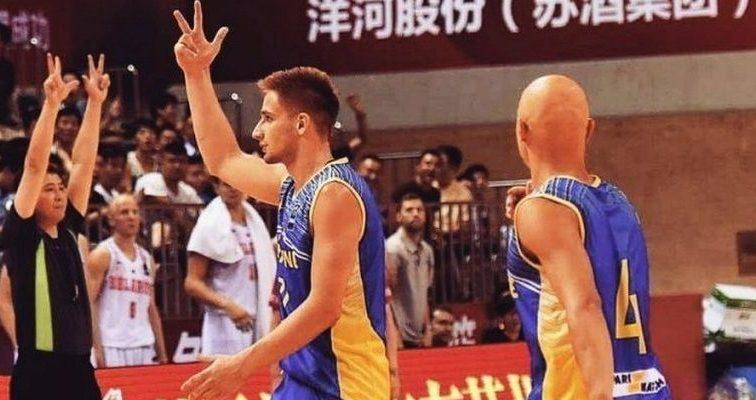 Збірна України з баскетболу виступає у Франції