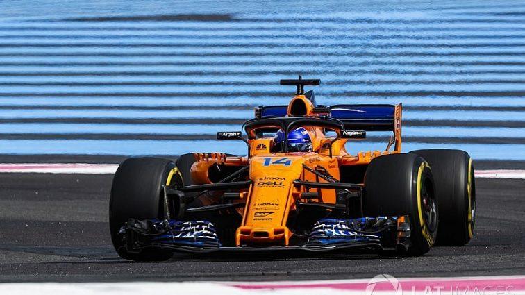 Алонсо розповів про жалюгідне становище McLaren під час Гран Прі Франції