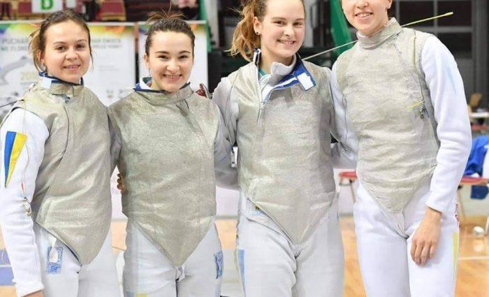 Українські фехтувальниці пробиваються до чвертьфіналу ЧЕ-2018