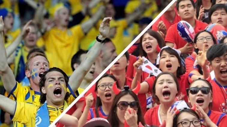 Шокуючий результат матчу Швеція – Південна Корея
