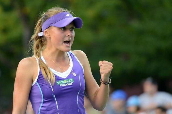 Українка Козлова феєрично вийшла у чвертьфінал престижного турніру в Чехії