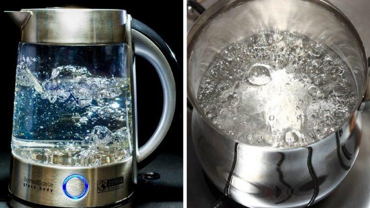 Ось чому не можна кип'ятити воду повторно. Це може бути небезпечно
