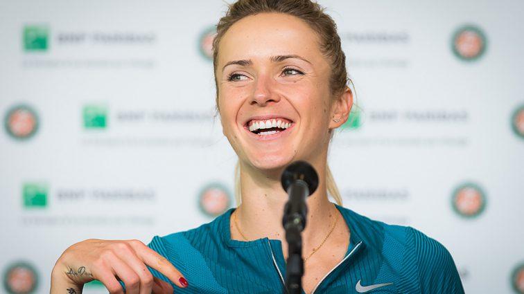 Еліна Світоліна пробує себе у новому виді спорту