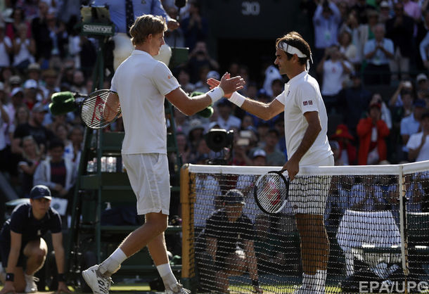 Сенсаційна поразка Роджера Федерера на Вімблдоні