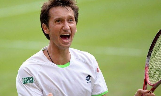 Стаховський зазнав нищівної поразки на турнірі в Ньюпорті