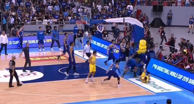 Баскетболісти влаштували брутальну бійку в матчі відбору на ЧС