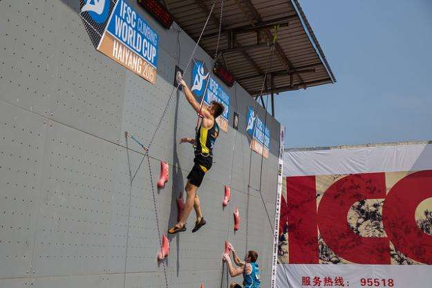 Український скелелаз здобув друге золото у суперфіналі