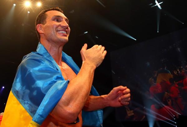 Український боксер Володимир Кличко порівняв себе з божевільним левом