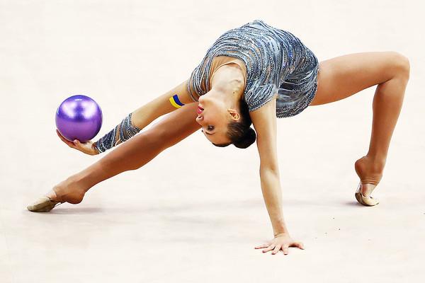 Молоді українські гімнастки вибороли золоті медалі в Італії