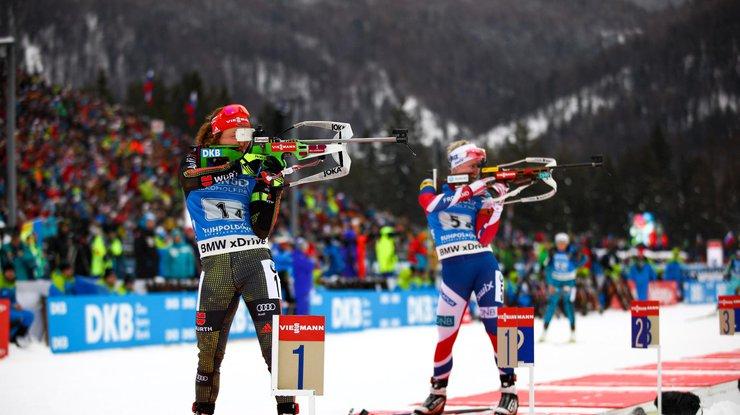 Троє російських біатлоністок перейшли до збірної України