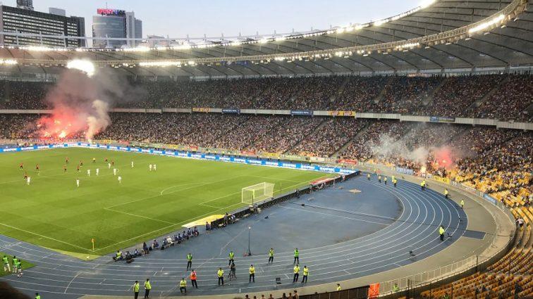 """Після футбольного матчу """"Динамо-Шахтар"""" на """"Олімпійському"""" ледь не сталась трагедія"""