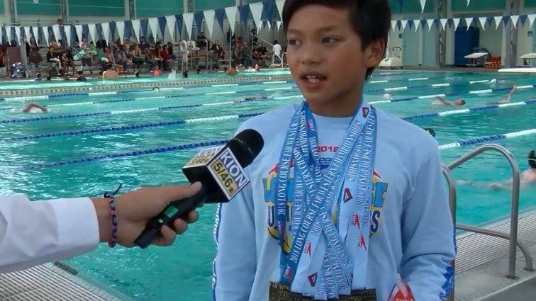 """""""Новий Кларк Кент"""": 10-річний плавець побив олімпійський рекорд"""