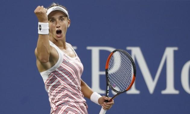Українка Леся Цуренко в драматичному матчі пробивається до чвертьфіналу US Open