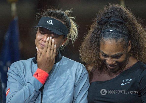 Фінал US Open серед жінок завершився гучним скандалом, Серена Вільямс лютувала