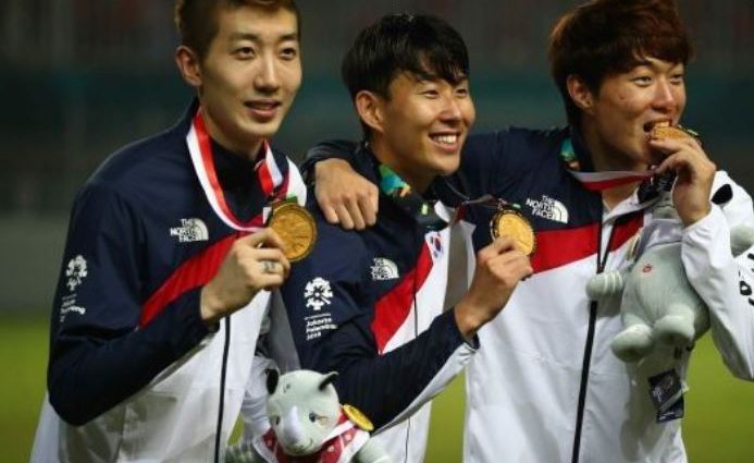 Футболіст збірної південної кореї не потрапив до армії завдяки перемозі в азіатських іграх