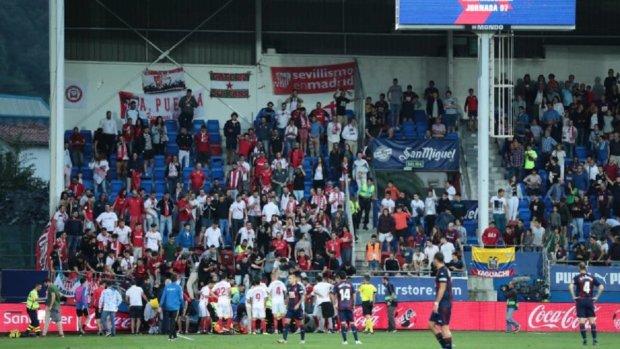 В Іспанії обвалився стадіон під час святкування голу: фото з місця події
