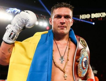 Український чемпіон Олександр Усик претендує на звання найкращого спортсмена року в світі